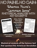 "No Paine, No Gain: A Rhetorical Analysis of Thomas Paine's ""Common Sense"""