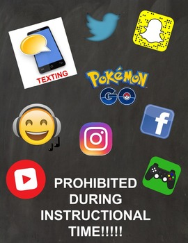 No Phones Poster