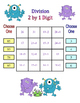 No Prep 2 Digit by 1 Digit Long Division Game - 4.NBT.6