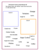 No Prep 30 Minute Therapies Word Categorizing 4 Printable worksheets