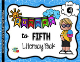 No Prep 4th to 5th Grade Summer Only ELA Pack