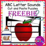 No Prep ABC Cut and Paste number puzzles 1-5