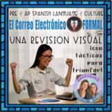 No Prep AP Spanish Formal E-mail Revision Visual * Formative
