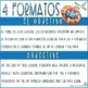 No Prep AP Spanish Language and Culture SOS! 4 Formats for Free Response Section