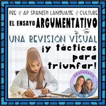 No Prep AP Spanish Persuasive Essay Revision Visual * Formative