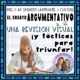 No Prep AP Spanish Argumentative Essay Revision Visual * Formative
