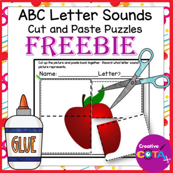 No Prep Abc Puzzles Free Preview