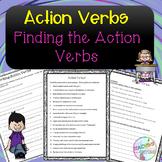 No Prep - Action Verbs