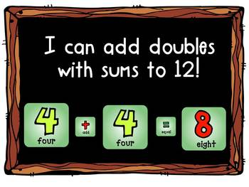 FREE Adding Doubles to 12!