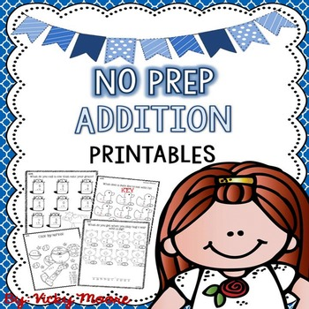No Prep Addition Pack