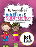 No Prep Addition & Subtraction Unit 1st Grade {CCSS}