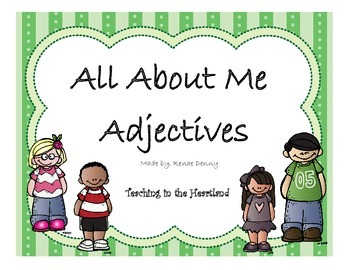 No Prep Adjectives Activity