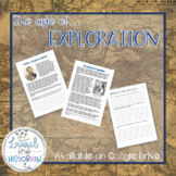 Age of Exploration Reading Passages and Writing Prompts