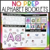 No Prep Alphabet Booklets