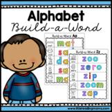 No Prep Alphabet Build-a-Word Mats