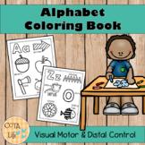 No Prep Alphabet Coloring Book
