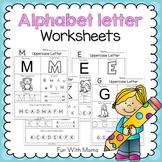 Alphabet Worksheets    Alphabet Letter Worksheets   Alphabet Practice Worksheets