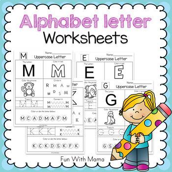 Writing Letters Worksheet | Teachers Pay Teachers