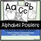 No Prep Alphabet Posters