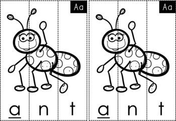 No Prep Alphabet Puzzles - Letter Recognition