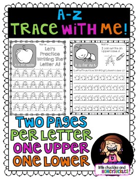 No Prep - Alphabet Upper/Lowercase Tracing Practice