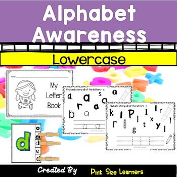 No Prep Alphabet Worksheets Lowercase