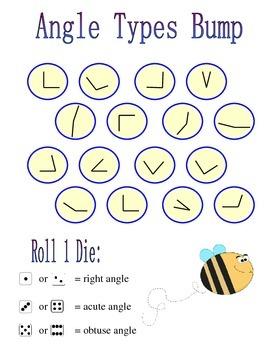 No Prep Angle Types Game - Fourth Grade Math 4.G.A.1
