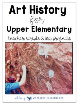 No Prep Art History for Upper Elementary
