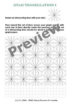 No Prep - Art in Math / Math in Art: Make Amazing Designs with Ruler & Pen