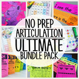 No Prep Articulation {BUNDLE PACK}