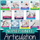 No Prep Articulation Bundle