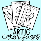 No Prep Articulation Coloring Pages