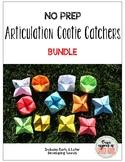 NO PREP Articulation Cootie Catchers: BUNDLE for Early & L