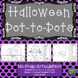 Articulation Dot to Dots: Halloween Edition