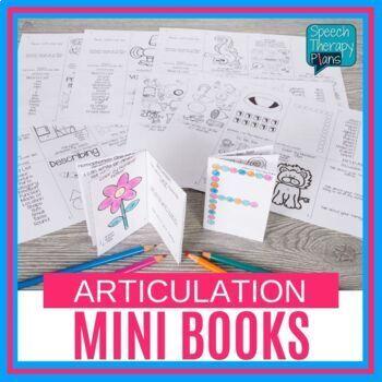 No Prep Articulation Mini Books - All Positions