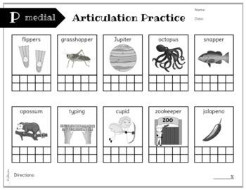 No Prep Articulation and Progress Monitoring: B, D, M, N, P, & T