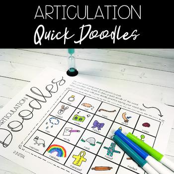No-Prep Speech Articulation Doodles