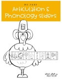 No Prep Articulation and Phonology Sliders: Thanksgiving S