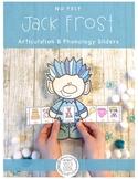 No Prep Articulation Sliders: Jumpin'Jack Frost