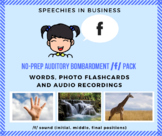No-Prep Auditory Bombardment /f/ Pack: words, pictures and