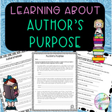 No - Prep - Author's Purpose, Entertain, Inform, Persuade