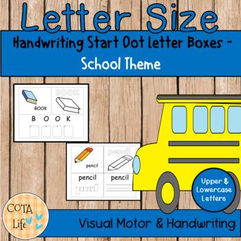 No Prep Back to School Handwriting Fun