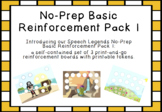 No-Prep Basic Reinforcement Pack I