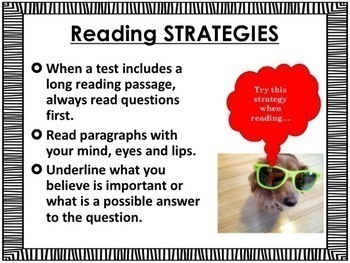 No Prep Test Taking and Test Anxiety Lesson