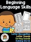 No Prep Beginning Language Skills