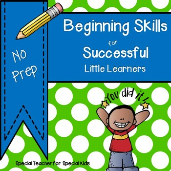 ** Beginning Skills Book*** No Prep***