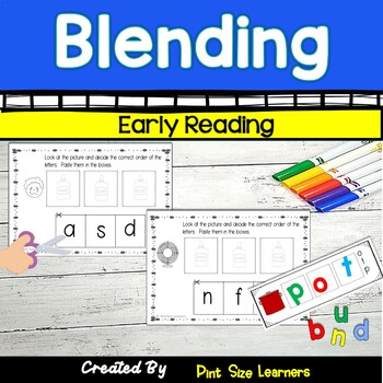 No Prep Blending Worksheets