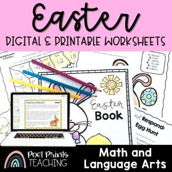 No Prep Book Bundle - Math and Literacy Activities