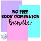 No Prep Book Companions GROWING BUNDLE