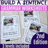 No Prep Build a Sentence - 2nd Edition Resource